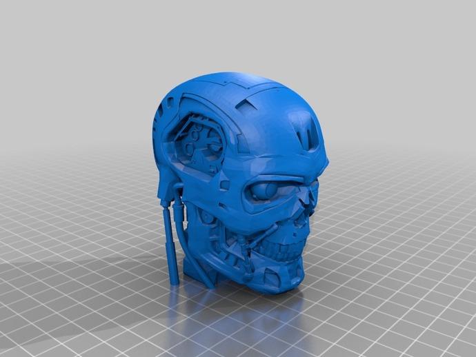 Шлем терминатора Т-800