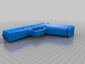 Модель игрушечного пистолета Glock 17