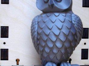 Статуя совы