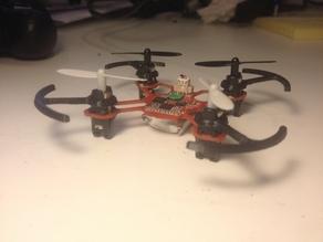 Прототип легкого квадрокоптера