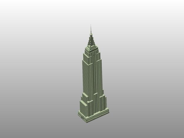 Миниатюра небоскреба в Нью-Йорке