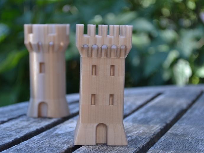 Модель башни