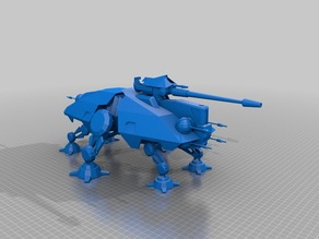 Модель робота -танка из Звездных войн