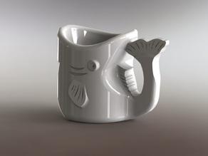 Чашка Рыбка