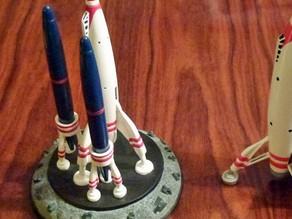Подставка для ручек Ракета
