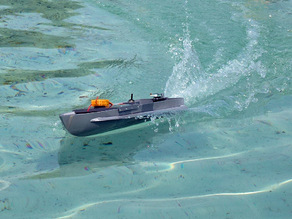Макет скоростной лодки