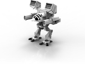 Модель Робота Mad Cat MKII из BattleMech