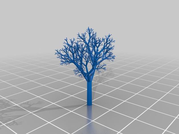 Миниатюра - дерево
