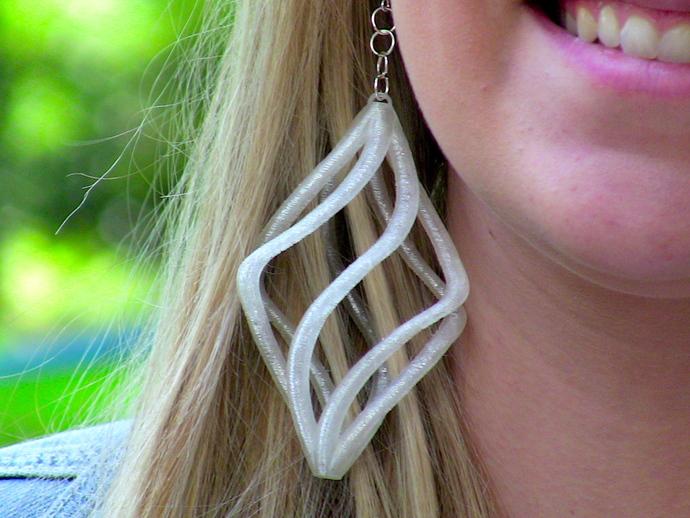 Сережки Спираль