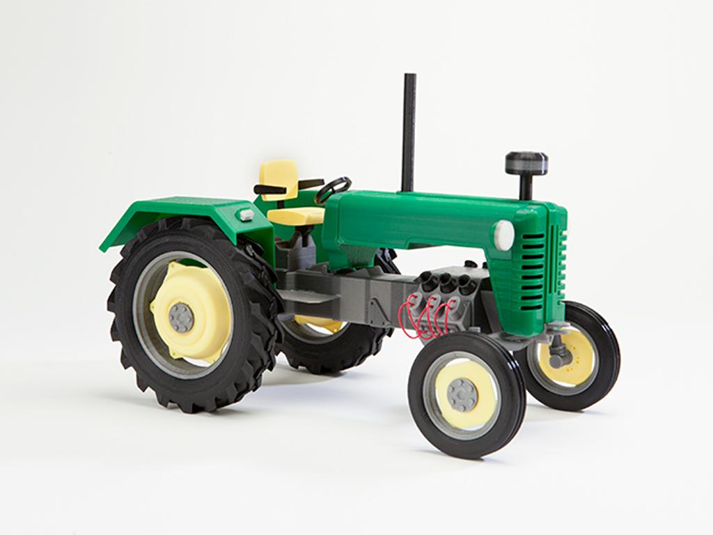 3D Модель Трактора