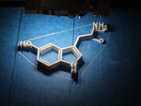 Визуализация химической формулы