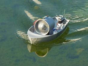 Миниатюра лодки