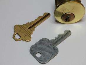 Ключ дверной