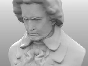 Бюст Бетховена