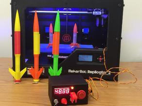 3D принтер Arduino Rocket