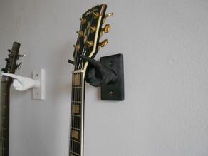 Настенный держатель гитары